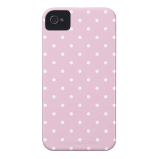 Fifties Style Sweet Lilac Polka Dot iPhone 4S Case Case-Mate iPhone 4 Case