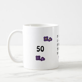 Fiftieth Birthday Coffee Mug