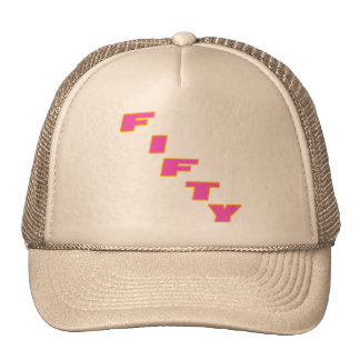 Fifty 50th Birthday Gifts Cap