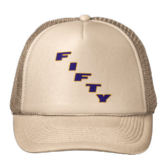 Fifty 50th Birthday Gifts Trucker Hat