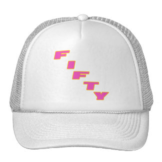 Fifty 50th Birthday Gifts Hat