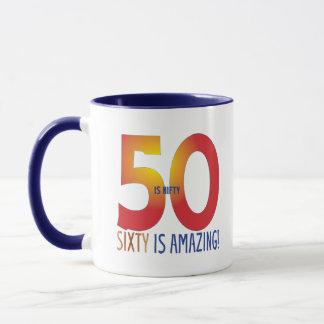 Fifty is nifty mug
