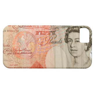 Fifty pound note iPhone 5 covers