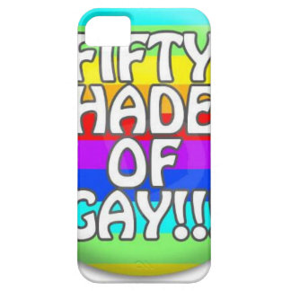 FIFTY SHADES OF GAY MULTI SHADE iPhone 5 COVER