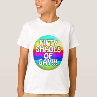 FIFTY SHADES OF GAY MULTI SHADE T-Shirt