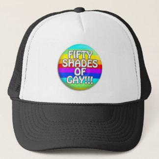 FIFTY SHADES OF GAY MULTI SHADE TRUCKER HAT