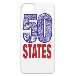 Fifty United States of America Barely There iPhone 5 Case