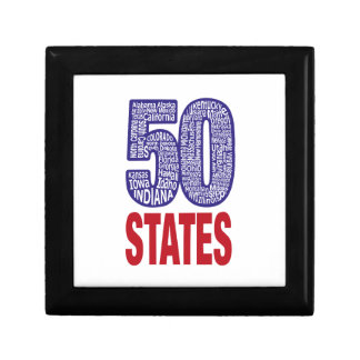 Fifty United States of America Gift Box