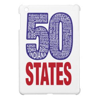 Fifty United States of America iPad Mini Cover