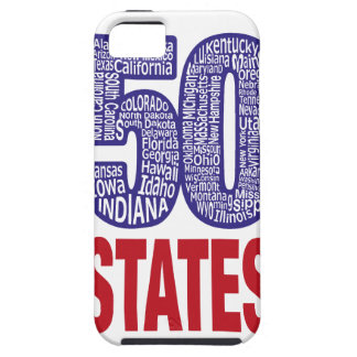 Fifty United States of America Tough iPhone 5 Case