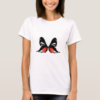 fig 3 Red Butterfly by tony fernandes T-Shirt