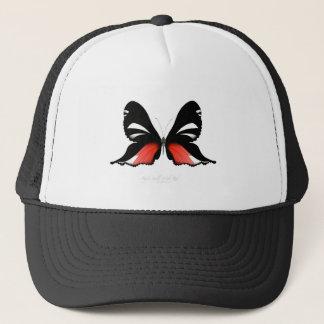 fig 3 Red Butterfly by tony fernandes Trucker Hat