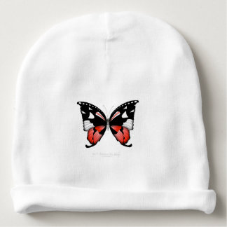 fig 4 Red Butterfly by tony fernandes Baby Beanie