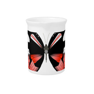 fig 4 Red Butterfly by tony fernandes Pitcher