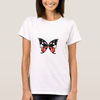 fig 4 Red Butterfly by tony fernandes T-Shirt