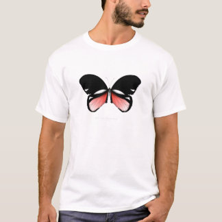fig 5 Red Butterfly by tony fernandes T-Shirt