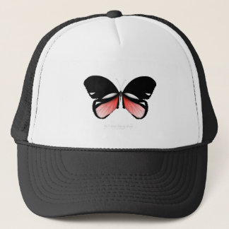 fig 5 Red Butterfly by tony fernandes Trucker Hat