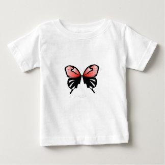 fig 6 Red Butterfly by tony fernandes Baby T-Shirt