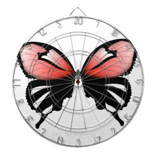fig 6 Red Butterfly by tony fernandes Dartboard