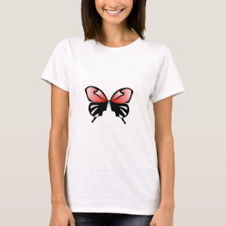 fig 6 Red Butterfly by tony fernandes T-Shirt