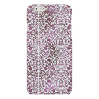 Fig and Plum Purple Floral Victorian Damask