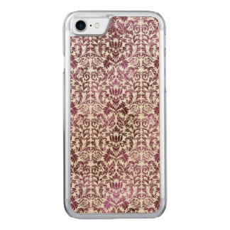 Fig and Plum Purple Floral Victorian Damask Carved iPhone 8/7 Case