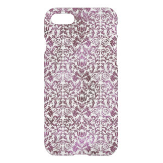 Fig and Plum Purple Floral Victorian Damask iPhone 8/7 Case