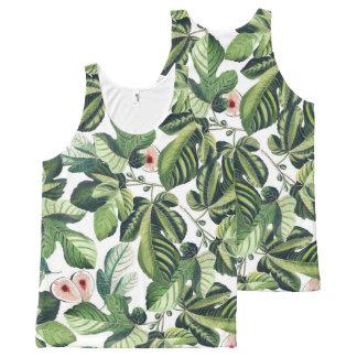 Fig Garden All-Over Print Singlet