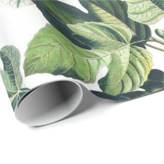 Fig Garden Wrapping Paper
