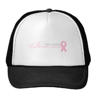 Fight Against Breast Cancer Mesh Hat