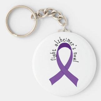 Fight Alzheimer's Now Keychain