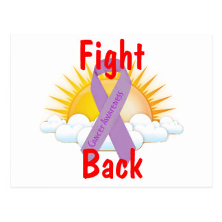 Fight Back Cancer Awareness Post Cards