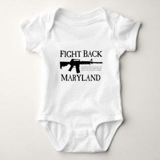 FIGHT BACK MARYLAND BABY BODYSUIT
