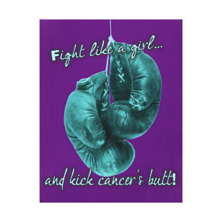 Fight Cancer Canvas