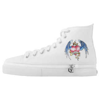 Fight cancer , cool wear sneakers