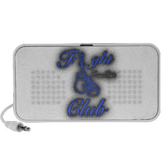 Fight Club Graffiti Blue and Black PC Speakers