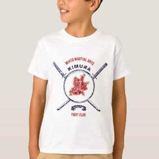 Fight Club Grunge print with samurai swords T-Shirt
