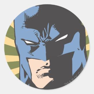 Fight Crime - Keep Peace - Batman Classic Round Sticker