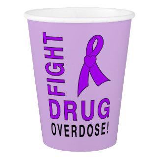 Fight Drug Overdose Paper Cup