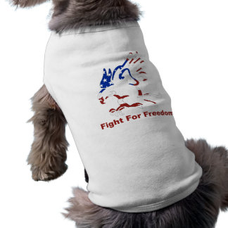 Fight For Freedom Eagle Dog Shirt