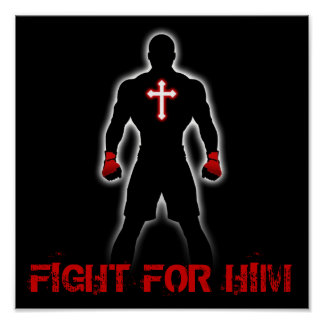FIGHT FOR HIM POSTER