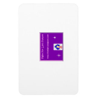 Fight For Lily's Future Rectangular Photo Magnet