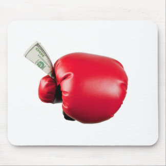 Fight for money mouse pad