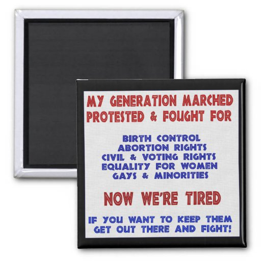 Fight For Rights Magnets