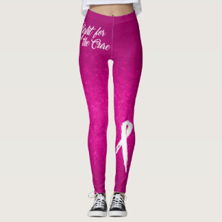 Fight for the Cure (Breast Cancer Awareness) Leggings