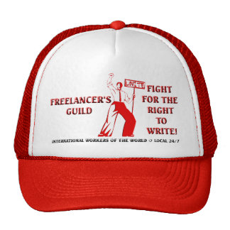 FIGHT FOR THE RIGHT TO WRITE CAP