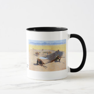 Fight for the Water Hole by Frederic Remington Mug