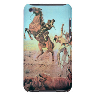 Fight for the Water Hole (colour litho) iPod Touch Cases