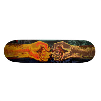 """FIGHT!"" (For What's Right) Skateboard Decks"