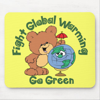 Fight Global Warming Mouse Pad